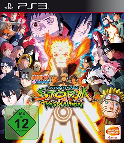 Naruto Shippuden: Ultimate Ninja Storm Revolution - Rivals - Ninja Ps3 Ultimate Naruto