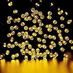 Guirnalda de Luces 200 LED Blanco Cálido 8 Modos Boda