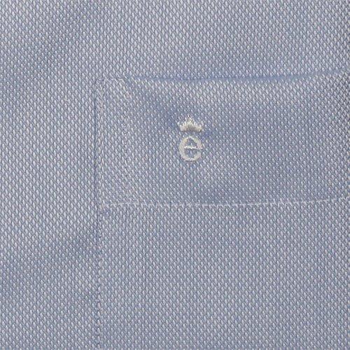 """Camicia da uomo """"Comfort Fit a maniche lunghe Natté Hellblau"""