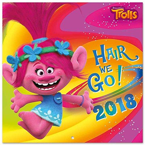 Calendario 2018 30X30 Trolls