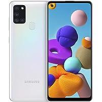 Samsung Galaxy A21s Android Smartphone ohne Vertrag, 4 Kameras, 5.000 mAh Akku, 6,5 Zoll HD+ Display, 32 GB/3 GB RAM…