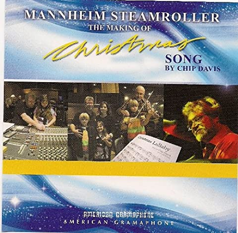 Mannheim Steamroller the Making of Christmas Song By Chip Davis Limited Ed