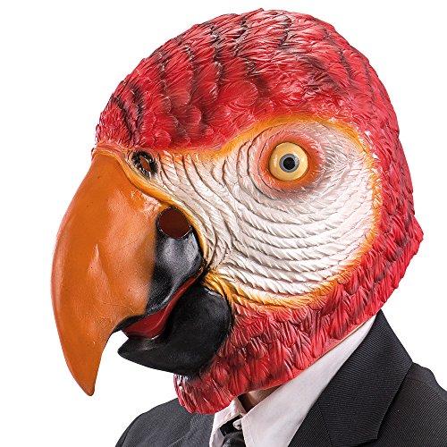 Carnival Toys 1488 Maske Papagei, one (Maske Papagei)