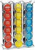 Stand portacapsule in acciaio inossidabile da 36 capsule