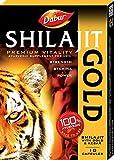 #9: Dabur Shilajit Gold - 10 caps - for strength, stamina & power