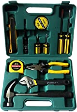 Techsun Household and Electrical Repair 12 in 1 Tool Kit Set for Emergency Uses