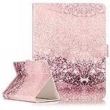 SZHTSWU Universal 10 Zoll Kunstleder Tablette Hülle, Magnetverschluss Farbmalerei Serie PU Leder Tasche Schutzhülle Flip Case Ledertasche mit Standfunktion für Alle 10