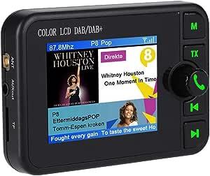Ashata Dab Car Radio Adaptor 2 4 Inch Colour Lcd Elektronik
