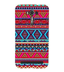 printtech Ethnic Tribal Pattern Back Case Cover for Asus Zenfone 2 Laser ZE601KL (6 INCH)2015