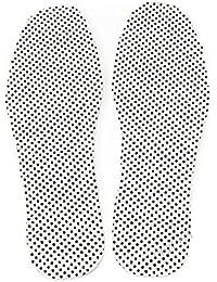 PIXNOR Terapia magnética termal self-heating plantillas del pie cojín del cojín del pie (blanco)