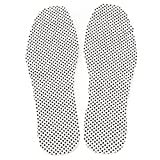 Pixnor Paar Magnetfeldtherapie thermische selbst Heizung Foot Pad Foot Kissen Einlegesohlen (weiß)
