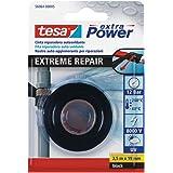 Tesa TE56064-00005-00 Cinta de reparatie autosoldante Extreme Repair 2,5 m x 19 mm negro, standaard