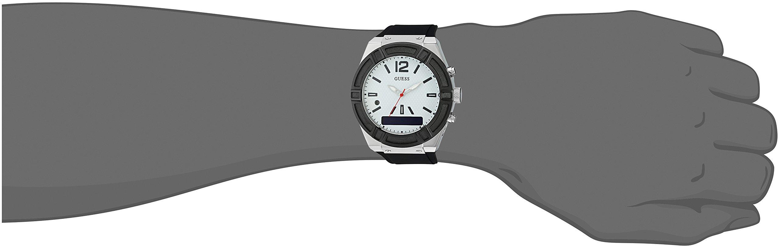Guess C0001G4 – Reloj analógico Digital de Cuarzo con Correa de