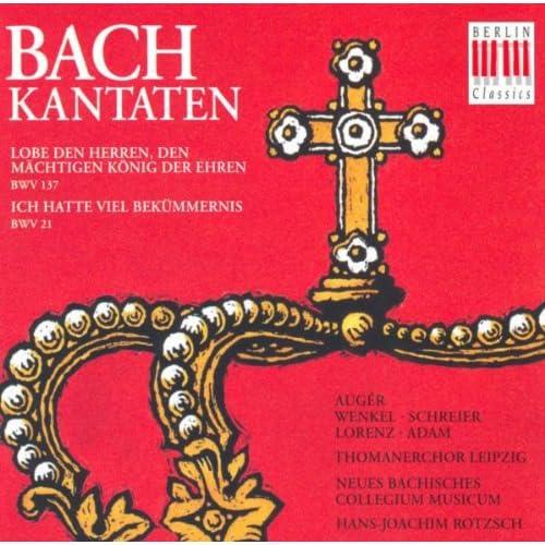 Bach, J.S.: Cantatas - Bwv 21, 137 (Rotzch)