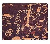 Liili Mauspad Naturkautschuk Mousepad PETROGLYPHS auf Zeitung Rock in Canyonlands National Park Utah Bild-ID 10603906