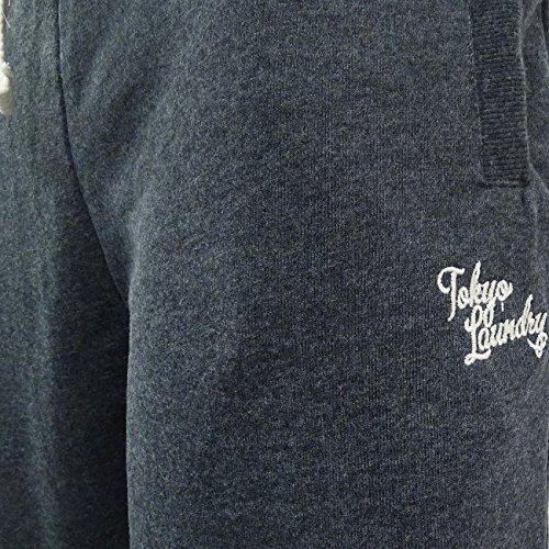 Tokyo Laundry -  Pantaloni sportivi  - Joggers  - Basic - Uomo Charcoal