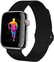 HILIMNY Compatible para Correa Apple Watch 38MM 42MM, Milanese Sport Correa, Compatible para iWatch Series 3, Series 2,...