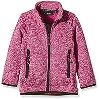 CMP - Chaqueta de forro polar para niña, talla 176, color rosa y blanco