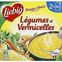 Liebig Potager malin legumes & vermicelles Les 2 briques de 30cl, soit 60cl - Prix Unitaire - Livraison Gratuit...