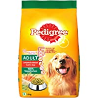 Pedigree Adult Dry Dog Food- Vegetarian, 1.2kg Pack