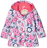 Hatley Girl's Printed Raincoat, Purple (Wintery Blooms), 3 Years