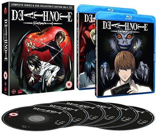 Death Note: Complete Series And Ova Collection [Blu-ray] [UK Import] Preisvergleich