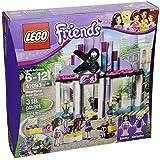 Friends Brick Box Building LEGO 318 PCS Pop Heartlake Hair Salon Toys by LEGO Friends Toys