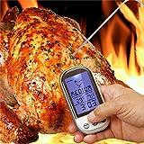 Termometro digital con sonda indicador de temperatura para alimentos
