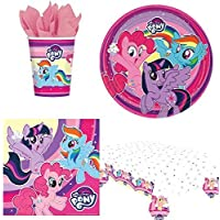 My Little Pony Party Tableware Pack for 8