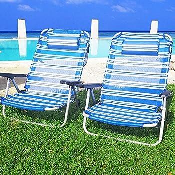 Enrico Coveri SPIAGGINA 63x47x54 CM Gialla Accessori Spiaggia Mare