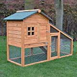 61LVqgjYV L. SL160  - BEST PET STORE FeelGoodUK Rabbit Hutch, 150 x 66 x 100 cm PRICE Review UK