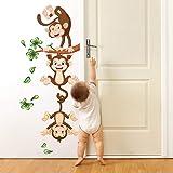 R00359 Stickers muraux Effet Tissu Doux décoration Murale bébé Nouveau-né pépinière Chambre Maternelle Papier Peint adhésif -