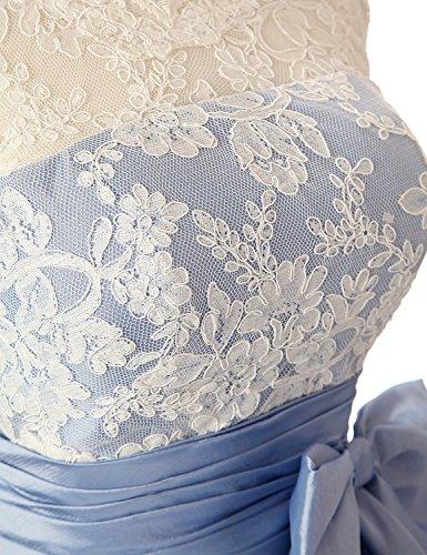MicBridal -  Vestito  - linea ad a - Donna Rosso
