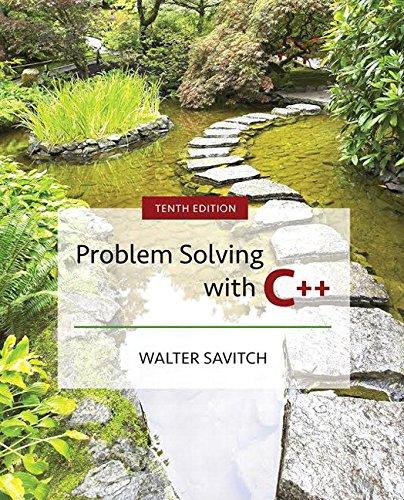 Problem Solving with C++ por Walter J. Savitch