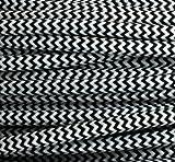 Cable textil de tres conductores (redondo, de 3 x 0,75 mm², en algodón), multicolor