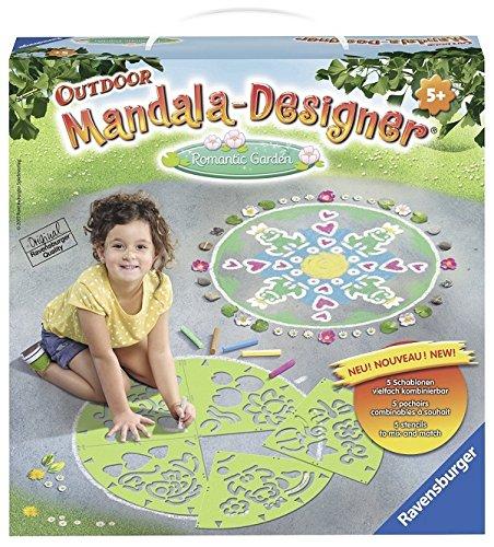 Ravensburger 29810 - Romantic Garden Mandala Designer Outdoor