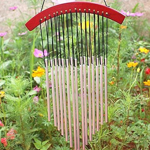 Xinhuaya inspirants Chimes, Full, relaxant Tons–Best Carillon pour salon cour Jardin extérieur terrasse–Musique pour vos oreilles–Wind Catcher Moderne Full Length 17.72Inch Multi 6