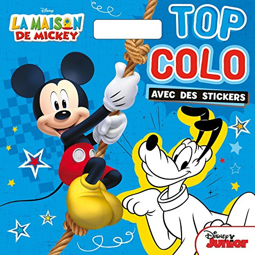 Top colo La maison de Mickey : Avec des stickers