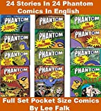 Phantom Comics Series: Collection of 24 Comics 24 Stories of Phantom By Lee Falk In Colour