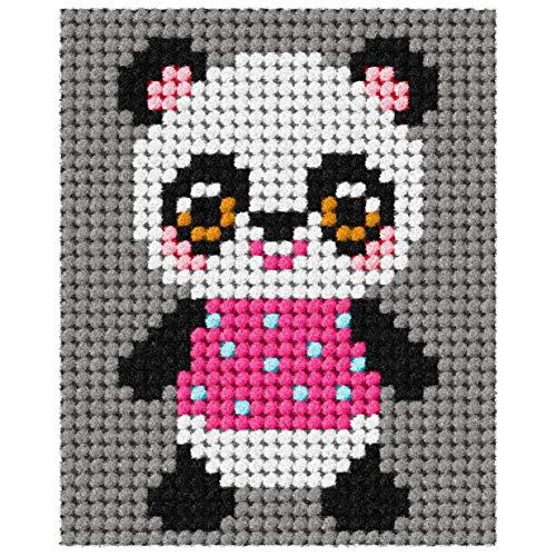 Orchidea Wandteppich, Motiv My First Panda, mehrfarbig, 17 x 20,5 cm -