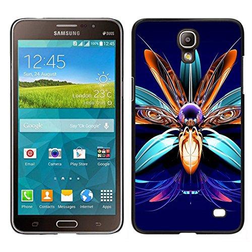 GIFT CHOICE / Dimagriscono Duro Custodia protettiva Caso Cassa Slim Hard Protective Case SmartPhone Cover for Samsung Galaxy Mega 2 // Art fiore pietre preziose monili di disegno //