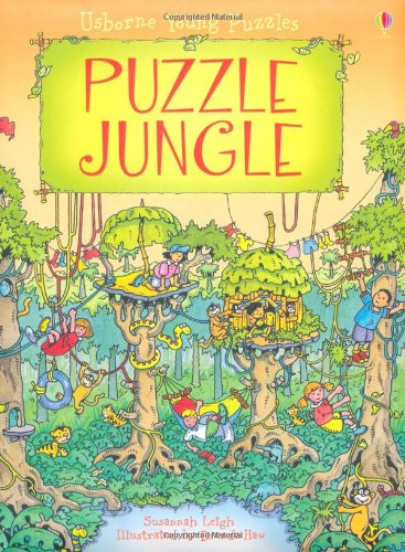 Puzzle Jungle (Usborne Young Puzzles)