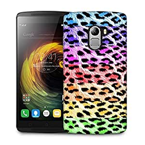 Snoogg Colorful Chetah Designer Protective Back Case Cover For LENOVO K4 NOTE