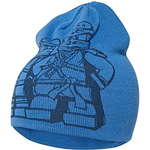LEGO Wear Jungen Mütze Lego Boy Ninjago Ayan 631-Strickmütze, Blau (Blue 552), 54