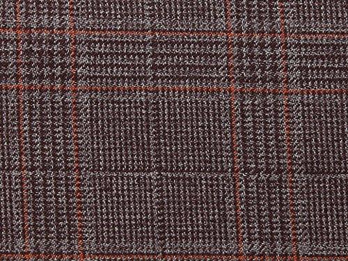 Überprüfen Sie die Polyester & Viskose passend Kleid Stoff Pflaume-Meterware (Pflaume überprüfen)