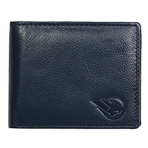 ROUGE Blue Bi-fold Men's Wallet(RO-MD4-14)