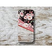 Blumen rosa Holz Print Handy Hül