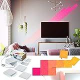 nanoleaf Canvas 13er Set | LED-Panel mit Touch-Steuerung, App Steuerung, 16 Millionen Farben | Alexa/Echo, Apple HomeKit & google assistant kompatibel, Plug & Play