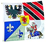 Legler 7616 - Ritterflagge Dekorationsartikel