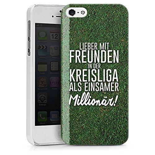 Apple iPhone X Silikon Hülle Case Schutzhülle Kreisliga Fußball Freunde Hard Case weiß